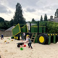 Sand Pit and Climbing Frame!