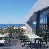 Bellas vistas al mar desde nuestra terraza
