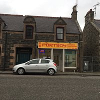 Newly opened in Portsoy.