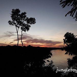 Discoveryjungletour/ tambopata sunset