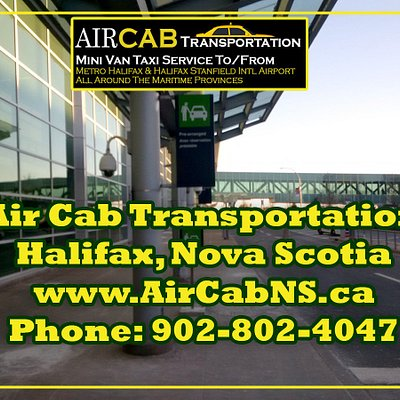 Halifax Airport Cab, SUB, Minivan Services in Halifax, Nova Scotia.