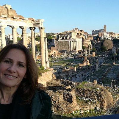 Tiziana, Rome tour guide, Rome, Italy