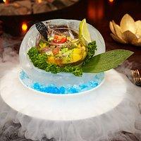 Севиче из тунца в тайском стиле