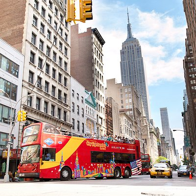 Enjoy the Big Apple atop City Sightseeing New York's Hop-on, Hop-off double-decker buses!