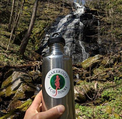 Hidden rainforest waterfalls.