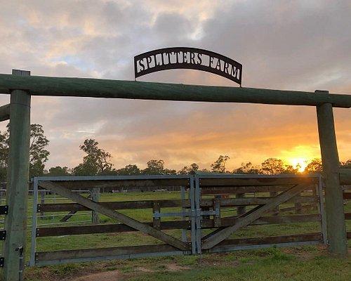Splitters Farm sign