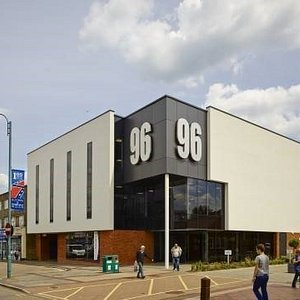 View of 96 from Shenley Road high street