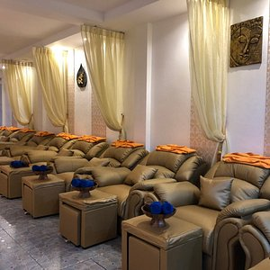 Brand New Massage Chairs at Golden Touch Massage 2 in Patong Beach.