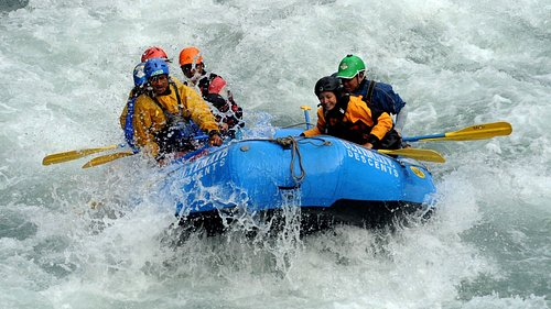 White water rafting at TRISULI for day trip