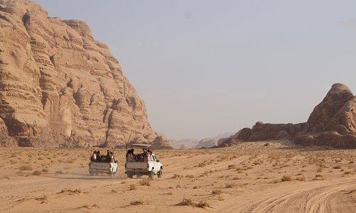 Wadi Rum Desert Eyes Jeep Tour