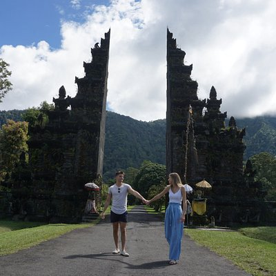 Bali Instagram Tour at Handara Gate. The one of Iconic Gate in Bali Island.