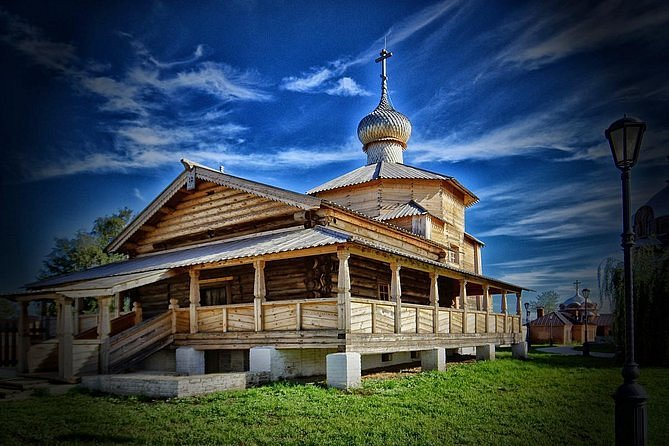 Tour to Tample of all religious,Monastery of Raifa& The island town of Sviyazhsk