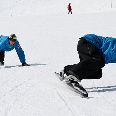 Great slopes on Corviglia, from November till April.