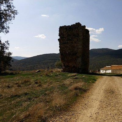 resto de torre de defensa