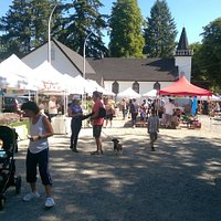 """Open Saturday's 10.00am-3.00pm May 4th - October 26th 2019 The Fort Langley Village Farmers' Market opens Saturdays from 10.00am to 3.00pm Come and get your fresh farm produce, vegetables, eggs, honey, jams & preserves, fresh flowers, fresh breads, baking and more. Our local farmers & food vendors and """"Best of BC"""" Artisans offer high quality foods and products for you and your family. 9025 Glover Road, opposite the Husky Gas Station. We are pet friendly! :)"""