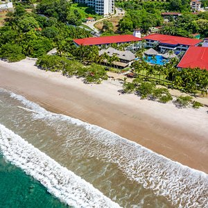 Located on one of the most beautiful beaches in Costa Rica