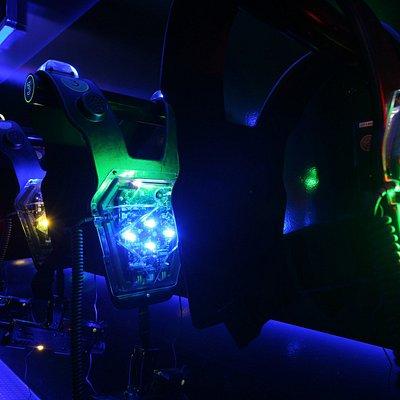 Laser Arena Westenraum