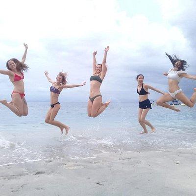Beach tour to Crystal Bay, Nusapenida island