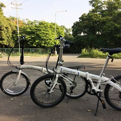 Introducing folding cycle tours.
