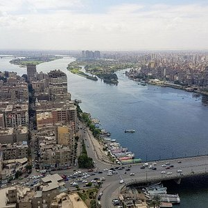View of Nile from the room.