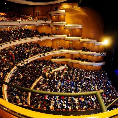 El auditorio en una de sus funciones.