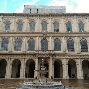 Facciata Palazzo Barberini.