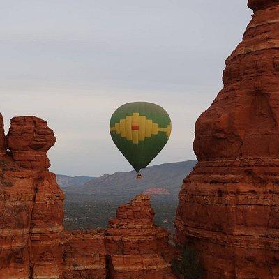 A Cockscomb Rock flight.