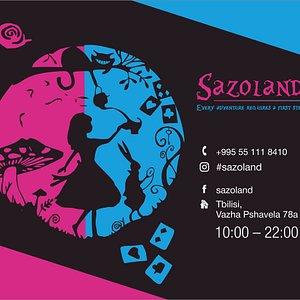 Sazoland приглашает вас поиграть в сказочный квест по мотивам сказки «Алиса в стране чудес»