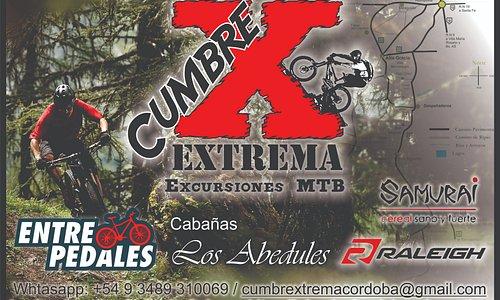 El mejor cicloturismo en las sierras Cordobesas!!!