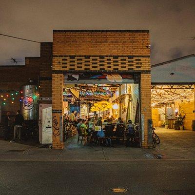 Moon Dog Brewery Bar and Ballroom Oasis