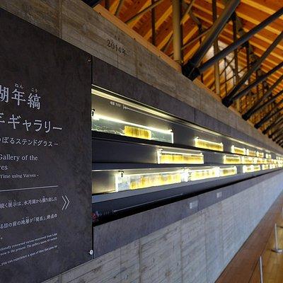 2018秋天「年縞博物館」開幕,除了展出長達45公尺的年縞,還有精彩的影音體驗設施