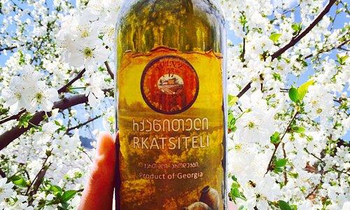 We are production Qvevri - wine, with Georgian traditional method. New harvest, white Rkatsiteli,  unfiltered  2018 y.