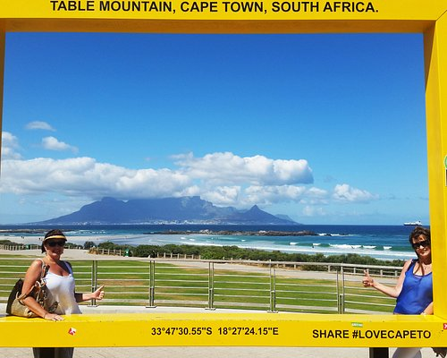 View from Big Bay across to table Mountain