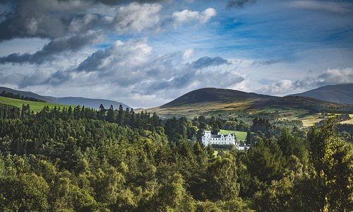 Blair Castle from the A9
