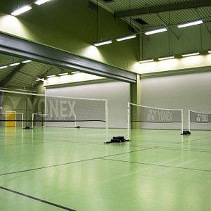 Badminton i Visby Racketcenter