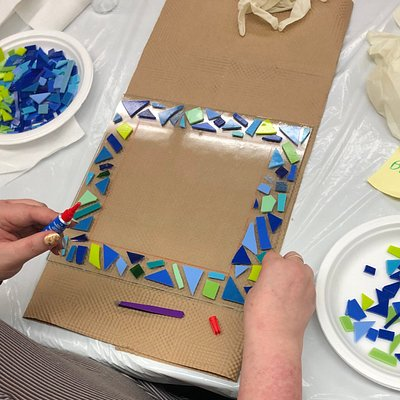 Beth Tzedec Congregation - Passover Fused Glass Workshop
