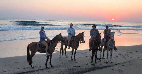 Best sunset, best ride ever!!