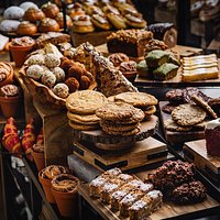 Great selection of in house made pastries