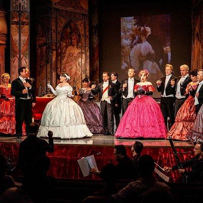 I Virtuosi dell'opera di Roma. La Traviata at Salone Margherita.
