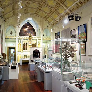 A view of our first-floor gallery.