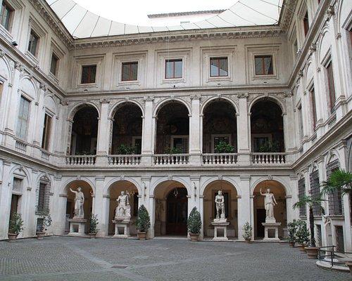La cour intérieure du palais Altemps