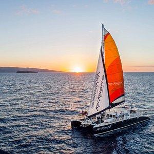 The Kai Kanani II, South Maui's only luxury sailing catamaran.