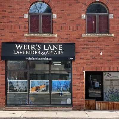 Our location (as of 2019). 105 King Street West, Dundas, Ontario