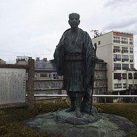 松尾芭蕉の碑