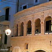 Particolare dell'antica Sinagoga