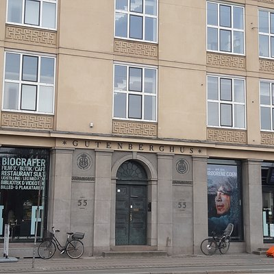 Front of The Danish Film Institute