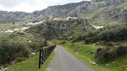 Auf der Via Verde zwischen Doña Mencia und Zuhayra