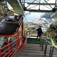 火の山頂上駅から撮影