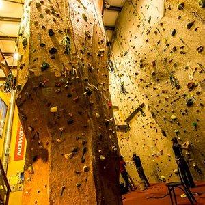 Rope climbing area