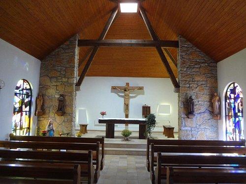 Eglise du Peuchapatte (vue intérieure)